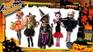 Halloween 2016. DIY     Идеи Костюмов для кукол на Хэллоуин. Easy Halloween Costume ideas