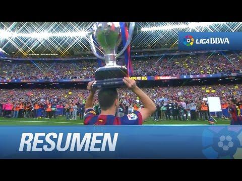 Repaso a la jornada final de la Liga BBVA 2014/2015