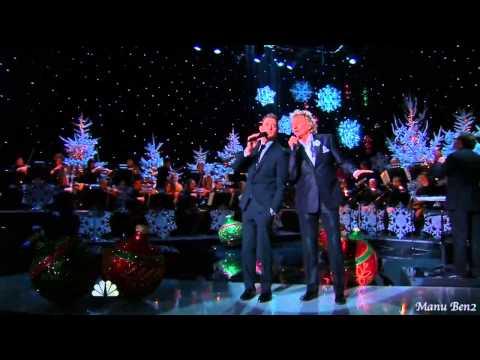 Michael Bublé & Rod Stewart  -  Winter wonderland (2012)