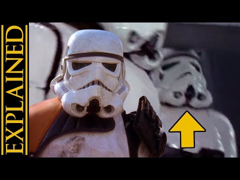 The Story of the Stormtrooper that Bumped His Head