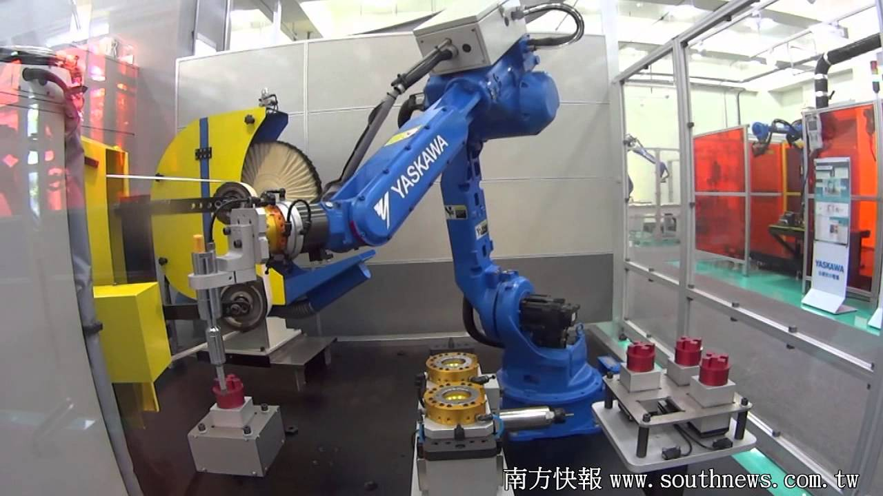 southnews_研磨拋光機器人設備/MOTOMAN HP20D - YouTube