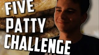 Five Patty Challenge - Interview with Food Superstar Michael Mosesian thumbnail
