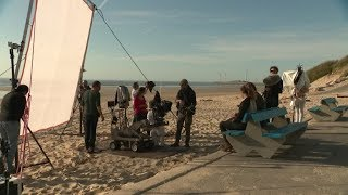 Boulogne-sur-mer : tournage du film Rebelles en mai 2018