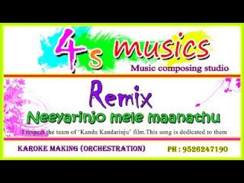 Neeyarinjo Mele Manathu  Remix