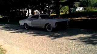 1964 buick riviera burnout