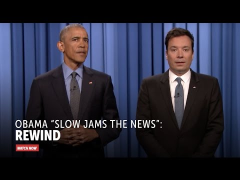 Obama 'Slow Jams the News': Rewind