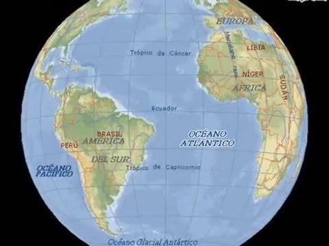 continentes y oceanos  YouTube