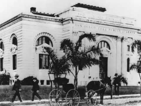 San Diego's Public Library - The First Carnegie Library in C