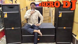 BHARAT ELECTRONICS BEST DJ MIXER DJ SYSTEM DJ SPEAKERS HERO DJ 70500 WEDDING DJ