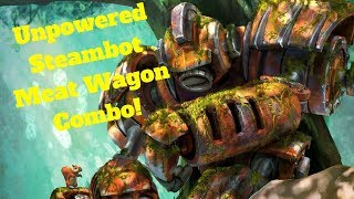Unpowered Steambot Meat Wagon Combo! [Hearthstone Game of the Day]
