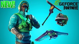 "How To Unlock ""Counterattack"" SKIN BUNDLE in Fortnite Battle Royale! (Geforce Bundle)"