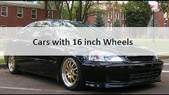 Cars with 16 inch Wheels