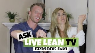 Excessive Cheat Meals, Birth Control, Fitness Trackers | #AskLiveLeanTV Ep. 049
