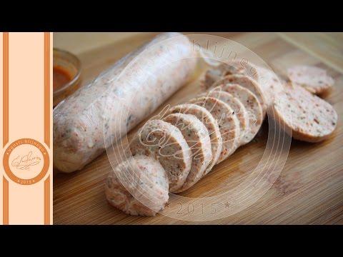 Сосиски из куриной грудки, диетические - Евгения Ковалец - Угости Ближнего #167