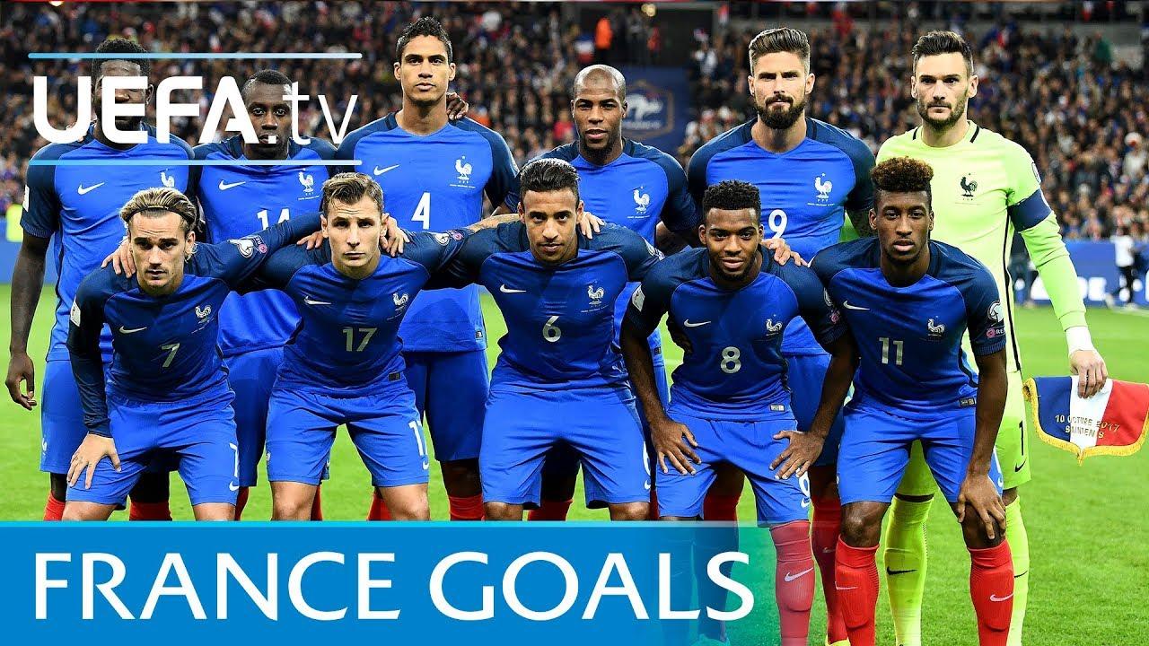 Resultado de imagem para France top five European Qualifiers goals