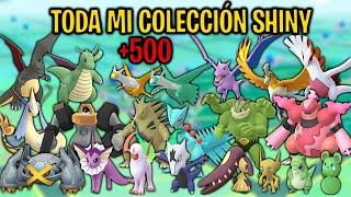 TODA MI COLECCIÓN SHINY AL COMPLETO! (+500 SHINIES) #ShinyCollection - Pokemon Go