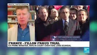 France's former PM François Fillon goes on trial over 'fake jobs' scandal