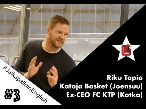 Riku Tapio. #JalkapalloinEnglish #business #fcktp #boardmeetings #management
