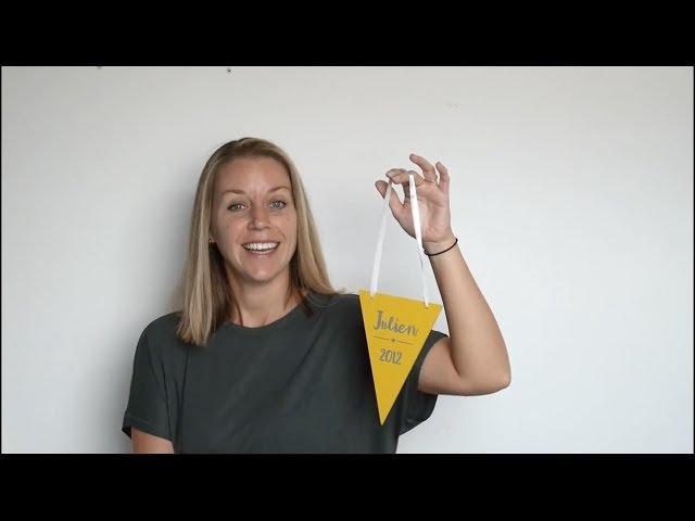 DIY  zelf een naamvlaggetje maken | Naamelijk