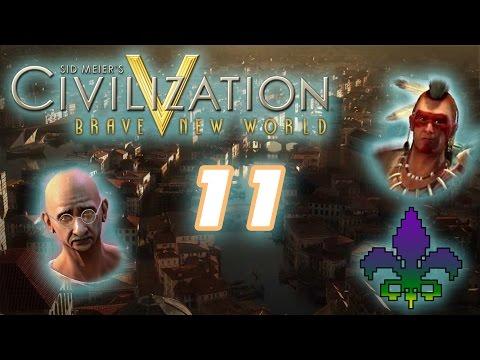 Sid Meier's Civilization V: Brave New World Episode 11 - Hashtags Galore  