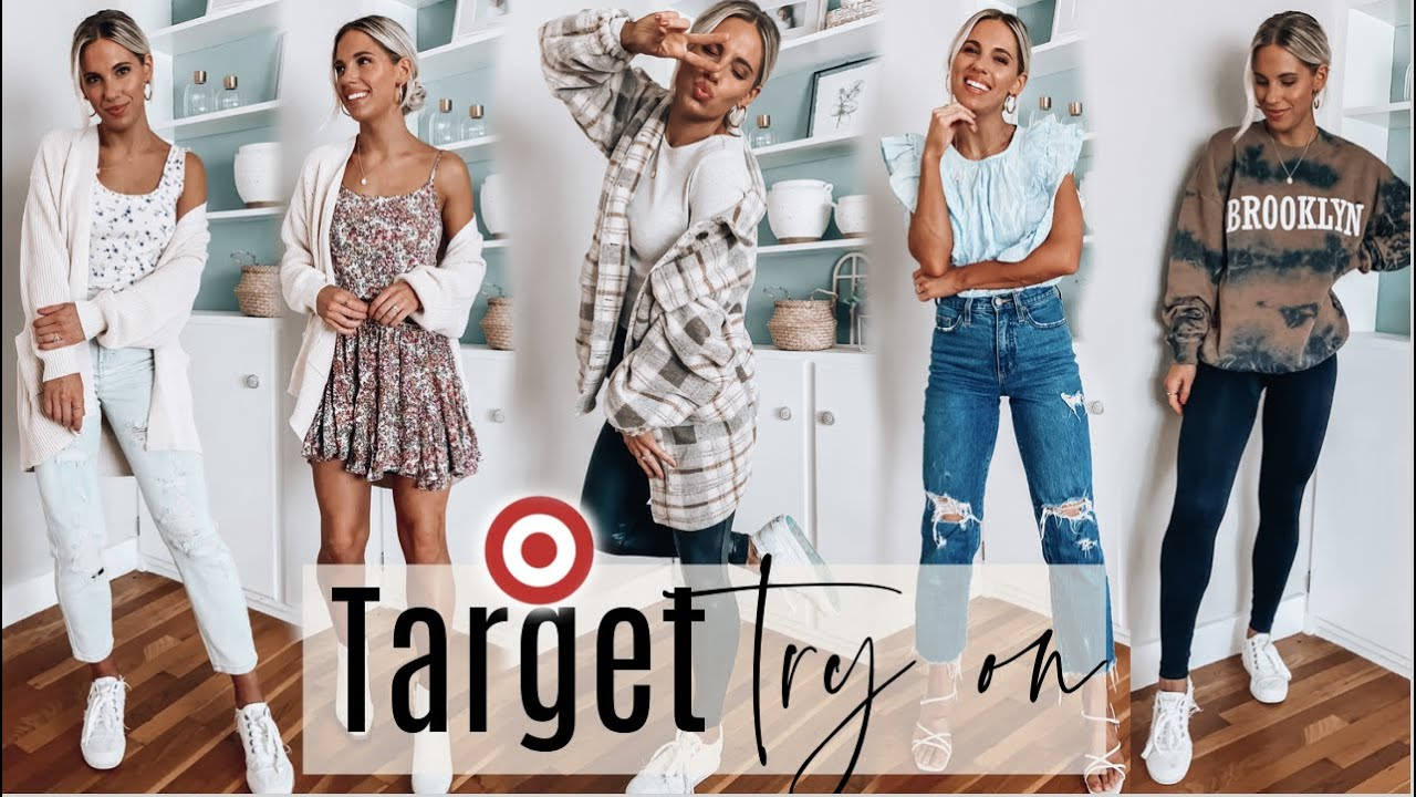 Target Try On Haul   Transition Outfits Summer/Fall 2021