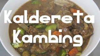 Kaldereta Kambing Pinoy Goat Recipe - Tagalog English Caldereta Filipino Cooking