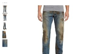 Nordstrom charging $425 for jeans with fake mud
