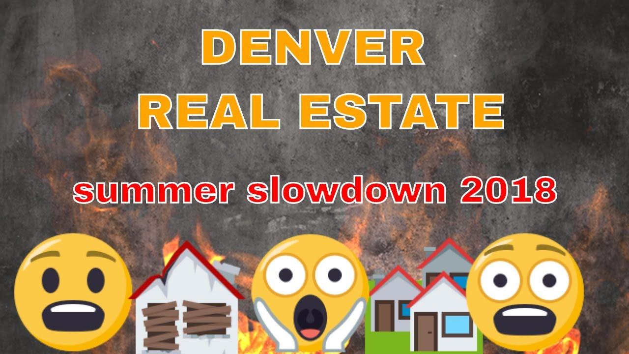 Denver Housing bubble 2018 - Summer slowdown or coming correction?