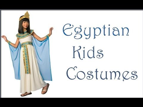 Egyptian Mummy and Pharaoh Costumes  sc 1 st  YouTube : woman pharaoh costume  - Germanpascual.Com