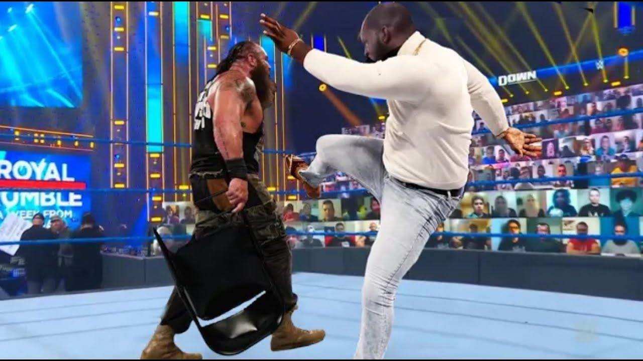 Download Jordan Omogbehin Lose The Control WWE 17 Apri 2021 Drew Mcintyre vs Aj Styles But Look what's happen