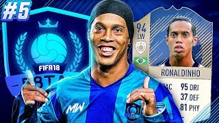 F8TAL PRIME RONALDINHO | FINAL UPGRADE TIME!! - FIFA 18 ULTIMATE TEAM