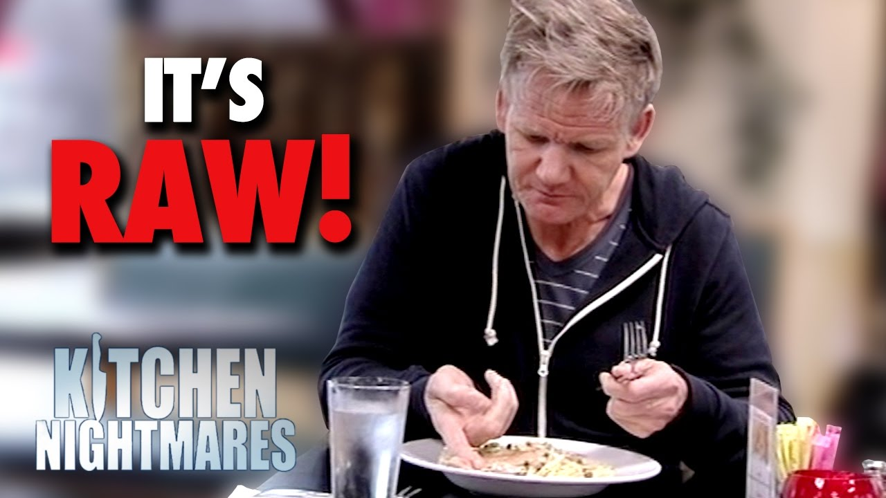 """yet again """"it's raw!"""" 