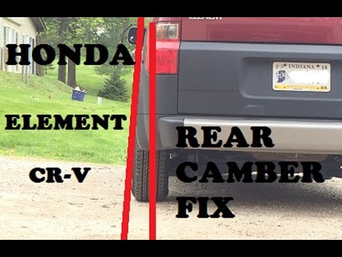 hqdefault honda element rear camber fix youtube