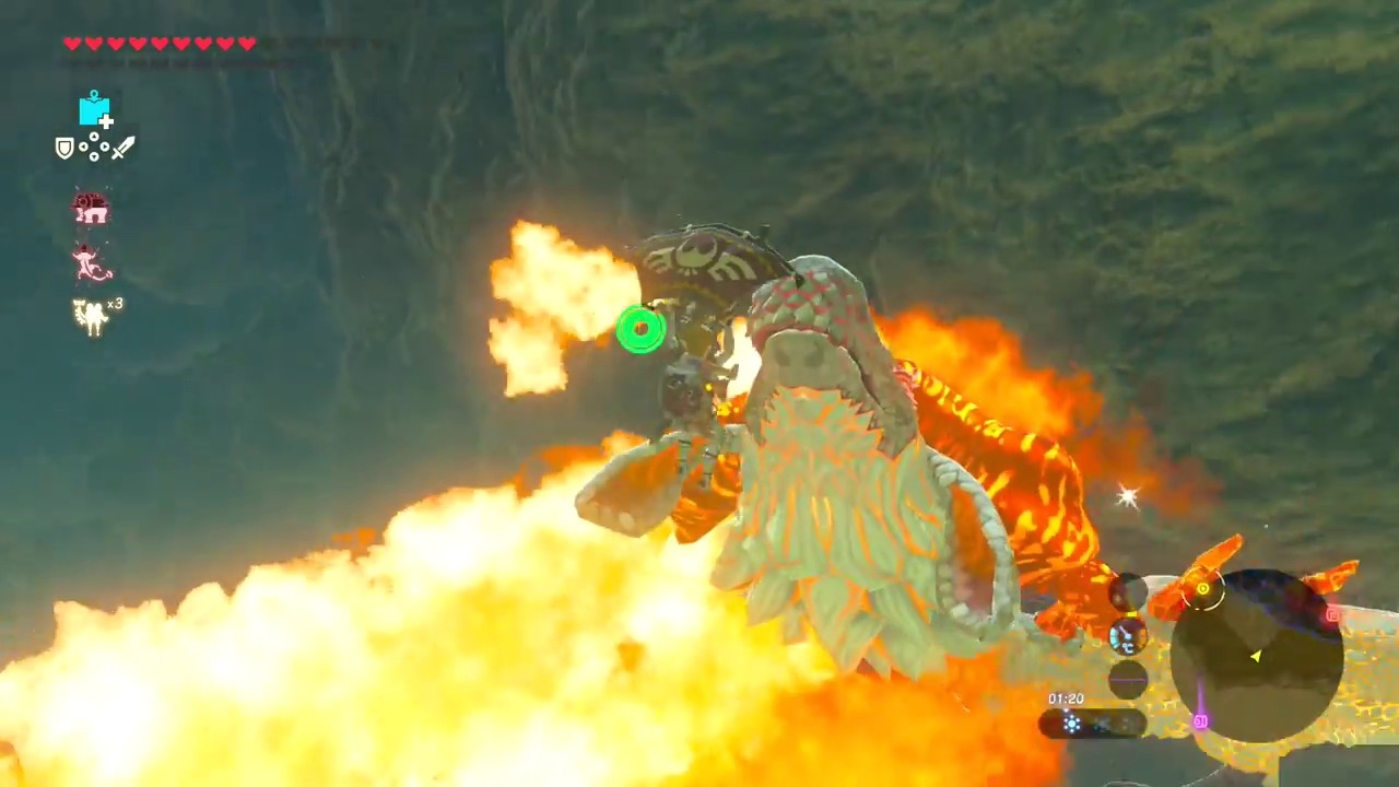 Forgotten Temple Full Of Guardians The Legend Of Zelda Breath Of The Wild