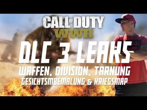 DLC 3 LEAKS! - Neue Waffen & Division, Chrome Tiger Camo & Gesichtsbemalung! (COD WW2)