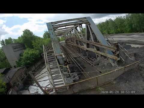 Фото FPV practice. Railway bridge. Foxeer box 2 destroy protection glass