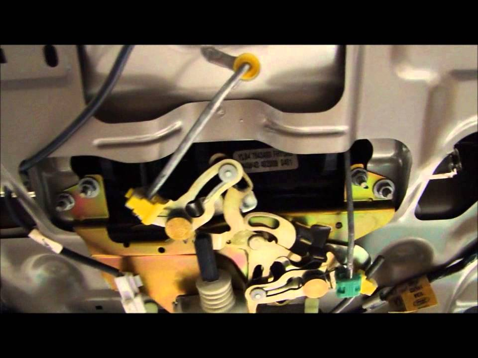 Ford Escape Liftgate Lock Actuator Replacement Youtube
