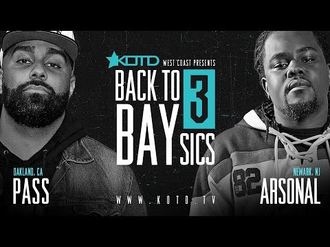 KOTD - Rap Battle - Arsonal vs Pass | #B2B3