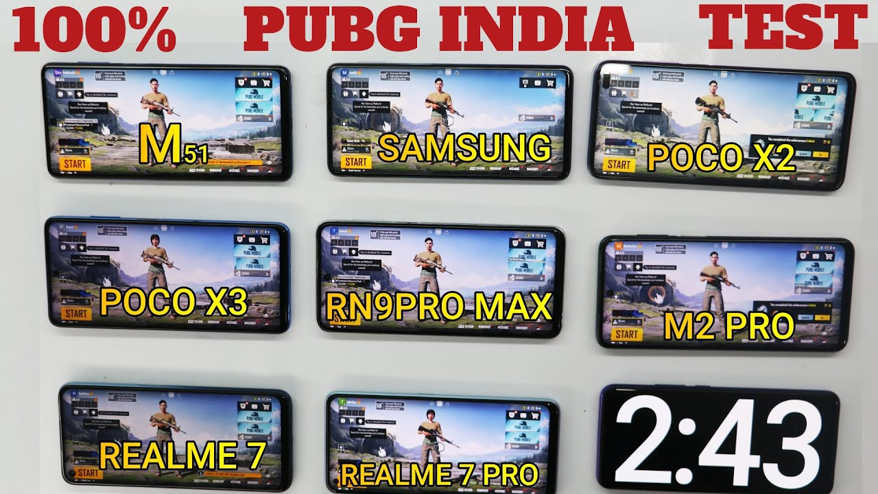 Download PUBG INDIA #100% Battery Drain Test