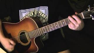 Keep Holding On Avril Acoustic Guitar Lesson