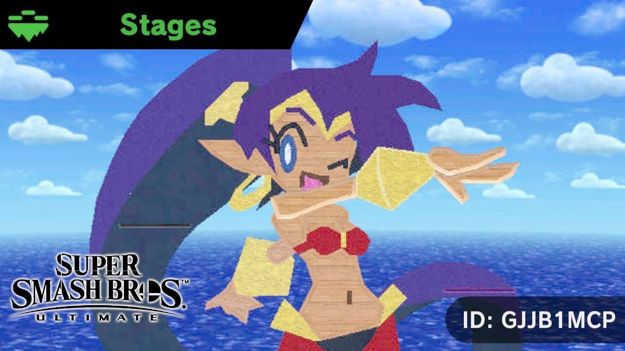 Seven Dancing Shantae Stages in Smash Bros Ultimate