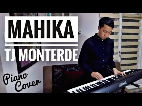 MAHIKA by TJ Monterde | Piano Cover | With Lyrics and Chords (Key of G#)