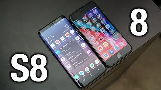 iPhone 8 vs Samsung Galaxy S8: Sorry Apple.. | Pocketnow