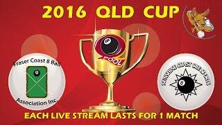 2016 Qld Cup - Men's 8 Ball Team - Fraser Coast v Sunny Coast
