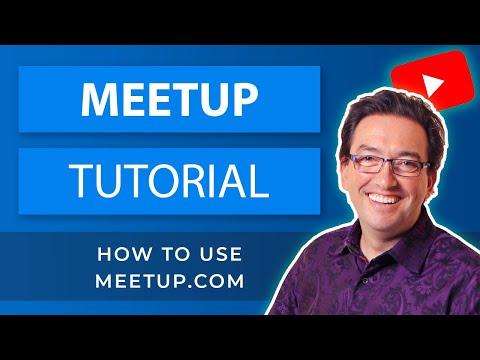 How to Use Meetup App Using Meetup Groups │ MeetUp.com Review