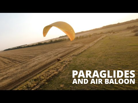 Baloons and paraplanes