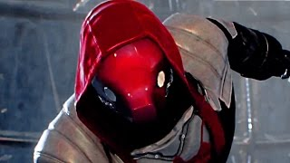 Batman Arkham Knight RED HOOD Gameplay Story