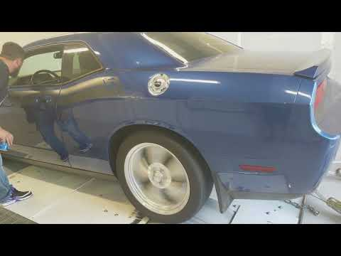 Dodge Challenger R/T Dyno. 100% Stock.
