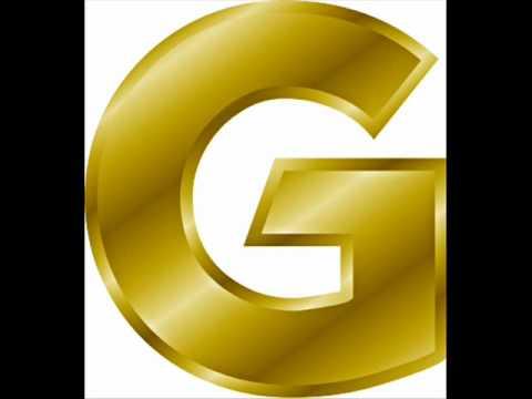 Gold Letter - G