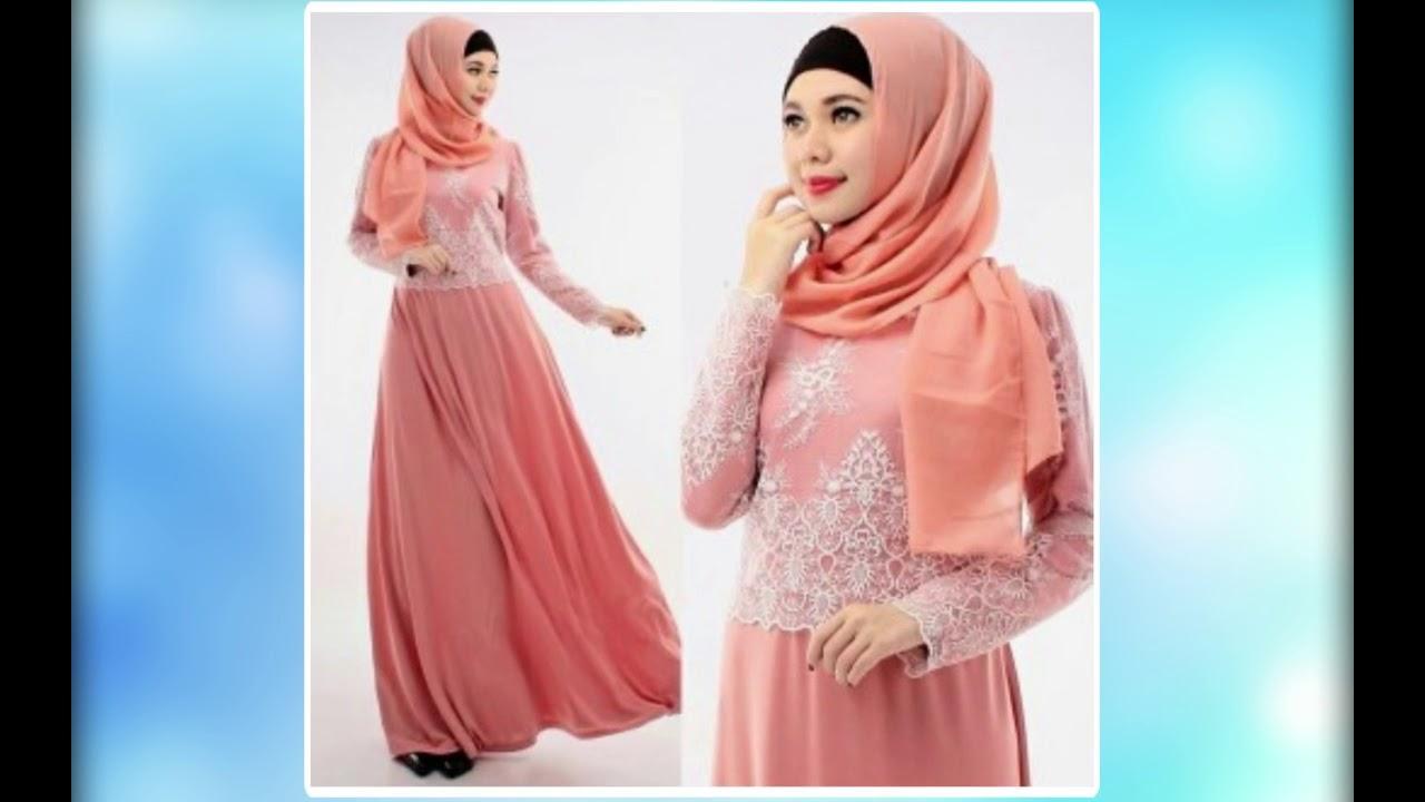 Model Baju Muslim Brokat Yang Menawan Dan Mewah